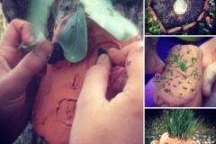 Keramikk og gress