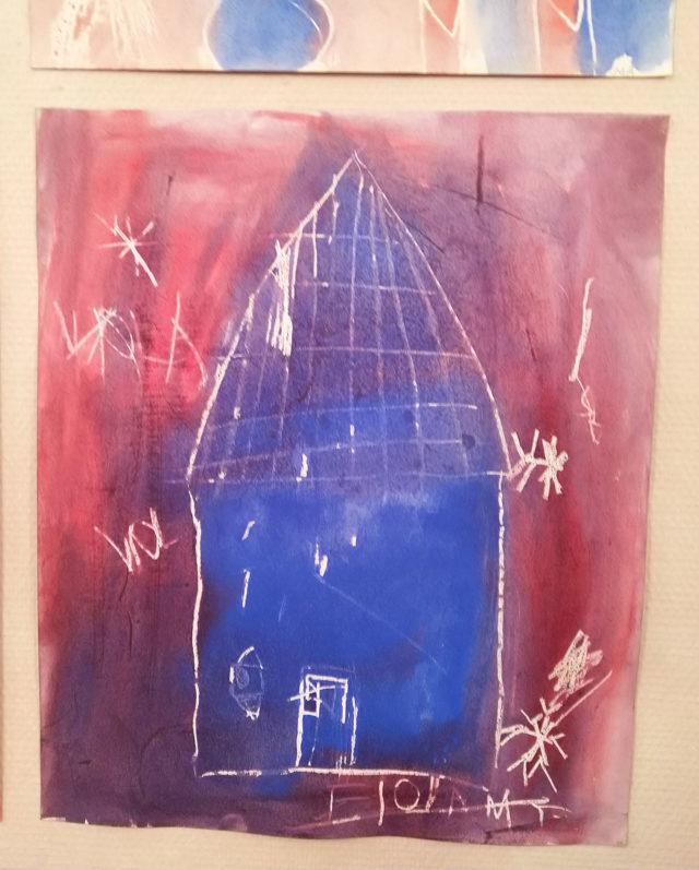 Vinterbilde fra 2.klasse Steinerskolen i Askim